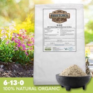 FISHTOWN® 6-13-0 Organic Fish Bone Fertilizer (40 lb)