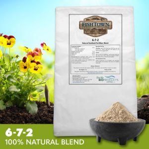 FISHTOWN® 6-7-2 Natural Seafood Fertilizer Blend (35 lb)