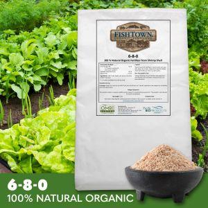 FISHTOWN® 6-8-0 Organic Shrimp Shell Fertilizer (12 lb)